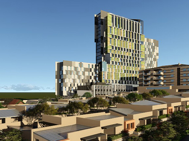 Student Accommodation: 77-123 Eveleigh Street, Redfern