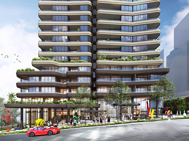 100 Unit Residential Tower: Site 1, 23-35 Atchison Street, St Leonards