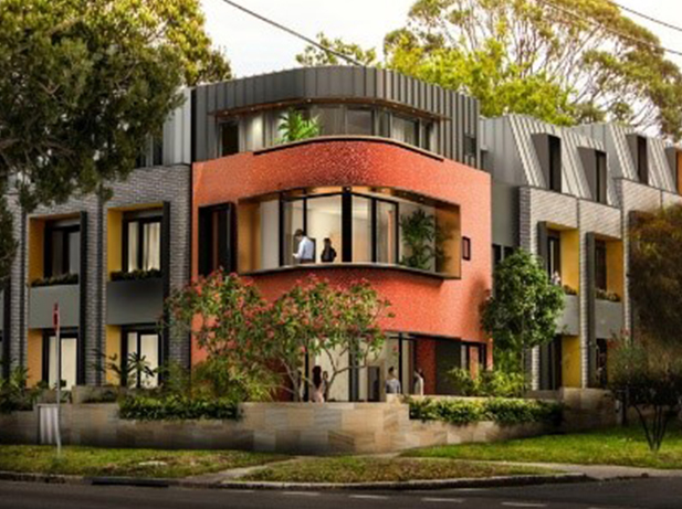 Residential Development: 82a Botany Street